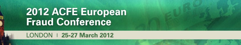 2012 ACFE European Fraud Conference